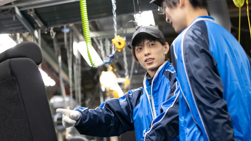 Tatsuya Hidaka is Line Manager of Manufacturing Section 1 in Production Department